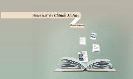 """America"" by Claude Mckay"