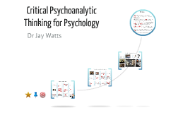Critical Psychoanalytic Thinking for Trainee Clinical Psychologists