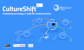 CultureShift: Embedding technology in staff and student practice' dissemination day.