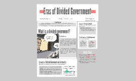 Eras of Divided Government