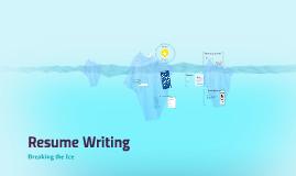 Resume Writing - TCFF