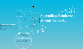 School Community Presentation: Spreading Kindness at your School