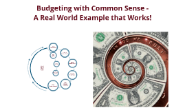 Copy of Budgeting with Common Sense