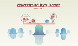 CONCEPTES POLÍTICS URGENTS