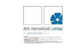 Lemgo, neues Logo und Zukunft