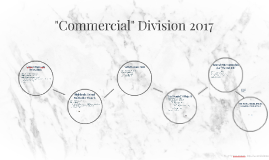 """""""Commercial"""" Division Manager - Trent Brown 2017"""