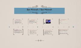 Bar Mitzvah / Bat Mitzvah