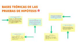 Copy of BASES TEÓRICAS DE LAS PRUEBAS DE HIPÓTESIS