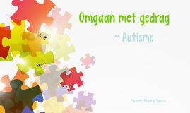 Omgaan met autisme
