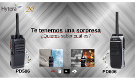PD506 y PD606 (Español)