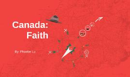 Canada: Faith