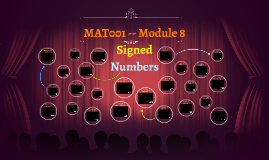 MAT001 -- Module 8 -- Signed Numbers