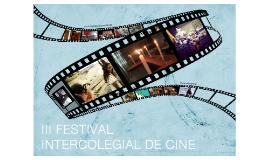 3 Festival Intercolegial de Cine