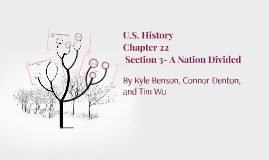 U.S. History: Chapter 22: Section 3- A Nation Divided