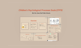 Children's Psychological Processes Scale (CPPS)