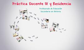 Práctica Docente IV y Residencia