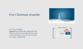 Copy of Free Prezi Template: Christmas Prezi from Prezzip