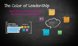 Copy of The Color of Leadership