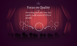 Quality Spotlight