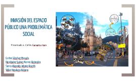 INVASION DEL ESPACIO PUBLICO