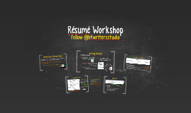 Résumé Workshop