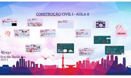 CONSTRUÇAO CIVIL I - AULA 8