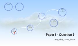 Paper 1 - Question 5
