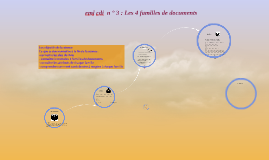 emi cdi 3 : les 4 familles de documents