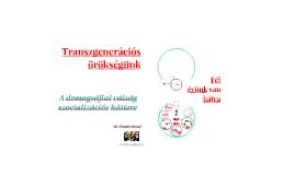 Transzgenerációs örökségünk