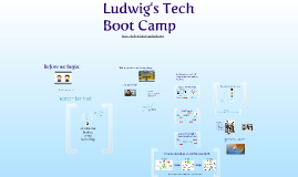 Ludwig's Tech Boot Camp