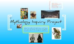 Mythology inquiry project