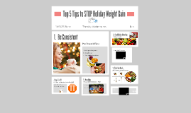 Top 5 Rules to STOP Holiday Weight Gain