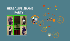 Copy of Copy of HERBALIFE SHAKE PARTY!!