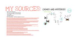 PRØVEMUNTLIG - CRIMES AND MYSTERIES