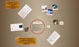 Retos de la Universidad en el contexto sociodigital