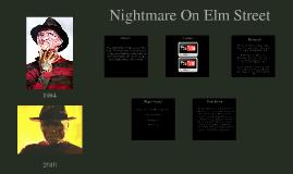 Nightmare On Elm Street Presentation