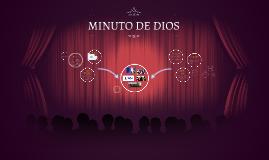 Copy of Copy of MINUTO DE DIOS