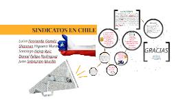 SINDICATOS EN CHILE