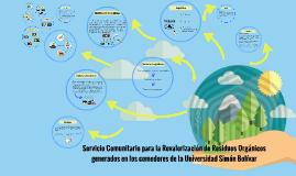 Creación de Servicio Comunitario para la Revalorización de R