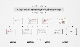 Casus Frank (systeemgerichte benadering)