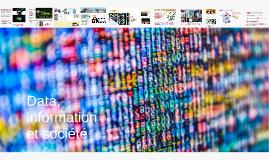 Data, information et société