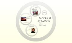 Leadership at Babson