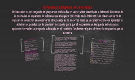 ESTRATEGIAS DE BÚSQUEDA  EN LA INTERNET