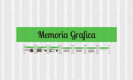 Memoria Grafica