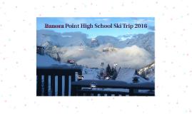 BPHS Ski Trip 2016