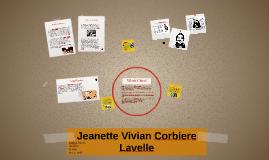 Jeanette Vivian Corbiere Lavelle