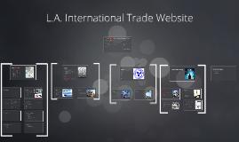 L.A. International Trade Website