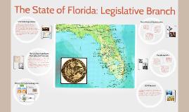 The State of Florida: Legislative Branch