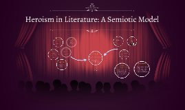 Heroisim in Literature: A Semiotic Model