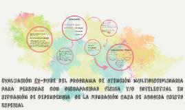 Evaluación del programa de Atención multidisciplinaria para